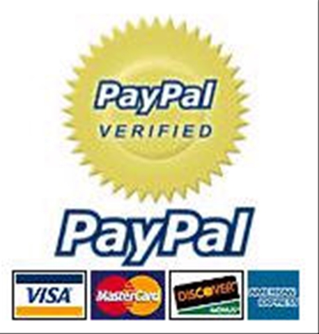 Pay me securely with Echeck, bank account transfer through PayPal!